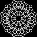 TCW šablona 15,2 x 15,2 cm - Orb Mandala - TCW