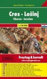 Cres,Lošinj 1:130T/kapesní mapa - Freytag & Berndt