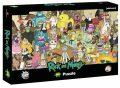 Puzzle Rick and Morty 1000 dílků - neuveden