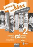 Deutsch mit Max neu + interaktiv 2/A1 - Pracovní sešit 3 v 1 + mp3 - FRAUS
