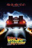 Plakát Back To The Future - Delorean -