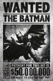 Plakát Batman Arkham Origins - Wanted -