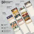 Kreativní knižní záložky 50Ks -. doplňková sada č. 01 pro Záložkodeník - MOTIONS