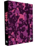 Box na sešity A4 Jumbo Camo girl - Karton P+P