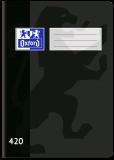 Školní sešit Oxford 440 černý - OXFORD