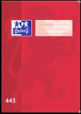 Školní sešit Oxford 445 červený - OXFORD