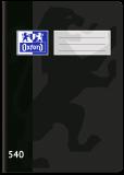 Školní sešit Oxford 540 černý - OXFORD