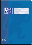 Školní sešit Oxford 540 modrý - OXFORD