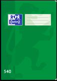 Školní sešit Oxford 540 zelený - OXFORD