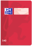 Školní sešit Oxford 540 červený - OXFORD