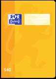 Školní sešit Oxford 540 žlutý -