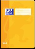Školní sešit Oxford 544 žlutý - OXFORD