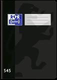 Školní sešit Oxford 545 černý - OXFORD