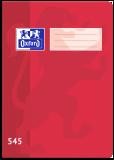 Školní sešit Oxford 545 červený - OXFORD