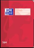 Školní sešit Oxford 564 červený - OXFORD