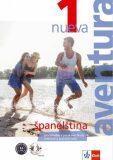 Aventura nueva 1 (A1-A2) – učebnice s pracovním sešitem + CD MP3 - Klett