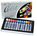 Artist olejové pastely metalické 12 barev - Colorino