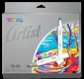 Artist skicovací fixy oboustranné 12 sytých barev - Colorino