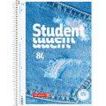 Brunnen Studentský linkovaný blok A4 - 3D džíny - KANORG