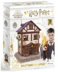 Harry Potter 3D puzzle Příčná ulice potřeby pro famfrpál - 78 dílků - neuveden