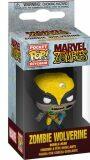 Funko POP Keychain: Marvel Zombies S1 - Wolverine - MagicBox
