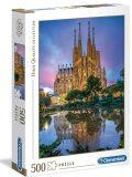 Clementoni Puzzle Barcelona / 500 dílků - CLEMENTONI
