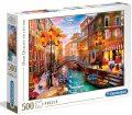 Clementoni Puzzle Benátky / 500 dílků - neuveden