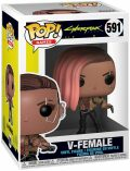 Funko POP! Games: Cyberpunk 2077 - V-Female - MagicBox