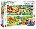 Puzzle Farma/2x20 + 2x60 dílků - neuveden