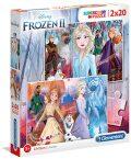 Puzzle Supercolor Ledové království 2/2x - neuveden