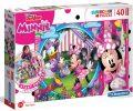 Puzzle Supercolor Floor Minnie/40 dílků - neuveden