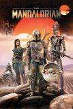 Plakát Star Wars - The Mandalorian - Group - BKS
