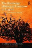 The Routledge History of Literature in English : Britain and Ireland - Ronald Carter