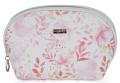 Kosmetická taška kulatá Pink flowers - Karton P+P