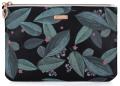 Kosmetická taška plochá Dark leaves - Karton P+P