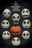 Plakát Nightmare Before Christmas - Many Faces of Jack - BKS