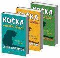 3x Kočičí krimi (Kočka v rouše vlčím, Kočka mnoha barev, Kočka v zákulisí) - Lydia Adamson
