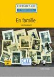 En famille - Niveau 1/A1 - Lecture CLE en français facile - Livre + Audio téléchargeable - Hector Malot