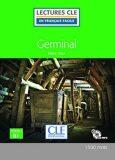 Germinal - Niveau 3/B1 - Lecture CLE en français facile - Livre + CD - Émile Zola