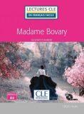 Madame Bovary - Niveau 4/B2 - Lecture CLE en français facile - Livre + CD - Gustave Flaubert