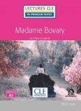 Madame Bovary - Niveau 4/B2 - Lecture CLE en français facile - Livre + Audio téléchargeable - Gustave Flaubert