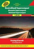 Germany Supercompact Road Atlas -