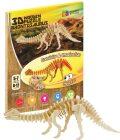 NiXiM Dřevěné 3D puzzle - Brontosaurus - NiXiM