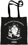 Třetí závislácká taška - látková - Knižní Závisláci