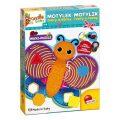 Carotina baby: Motýlek - Tvary a barvy maxi-puzzle - Lisciani