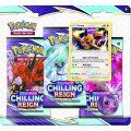 Pokémon TCG: SWSH06 Chilling Reign- 3 Blister Booster - Pokémon Company