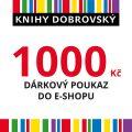 E-shopová dárková poukázka 1000 Kč -