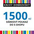 E-shopová dárková poukázka 1500 Kč -