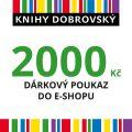 E-shopová dárková poukázka 2000 Kč -
