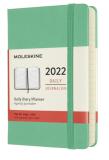 Moleskine Diář 2022 zelený S, denní, tvrdý - Moleskine